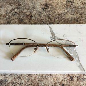 Coach Monogram brown glasses 👓